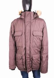 36r Jacket Size Chart Details About H M Mens Down Jacket Parka Hood Grey Size L