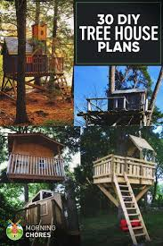 30 Free DIY Tree House Plans to Make Your Childhood (or Adulthood) Dream a  Reality | Diy tree house, Tree house plans and Tree houses