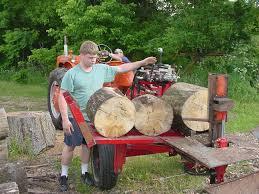 build this log splitter wood