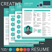 Creative Resume Templates Free Creative Resume Template Free Resume Template With Cover Letter 29