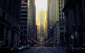 Download 2880x1800 Usa Chicago Streets Buildings Cars Urban