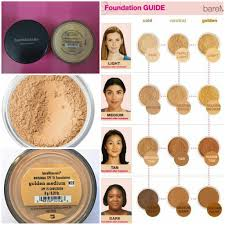 Bare Minerals Original Foundation Color Chart Bare Mineral Original Spf Foundation In Shade Light And