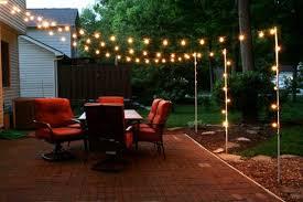 image of decorative backyard lighting ideas
