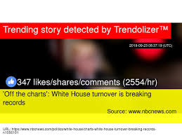 X27 Off The Charts X27 White House Turnover Is Breaking