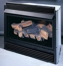 log fireplace insert inserts electric gas vented corner propane fire logs fireplaces direct