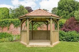 3 6m premium hexagonal wooden garden