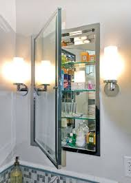 Medicine Cabinets Should You Get A Recessed Or WallMounted Style Best Inset Bathroom Cabinets Interior