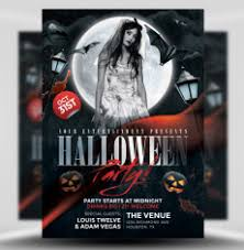 halloween template flyer halloween flyer templates for photoshop