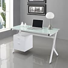 office glass tables. Lovely Glass Top Office Desk 6224 White Fice Furniture Ideas Tables