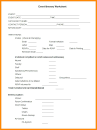 Event Itinerary Template Amazing Group Itinerary Template Event Itinerary Itinerary Worksheet Group