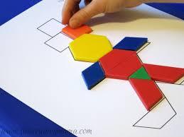 Pattern Blocks Impressive Thanksgiving Mats for Pattern Blocks