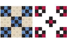 Double Nine-Patch Quilt Block Pattern &  Adamdwight.com