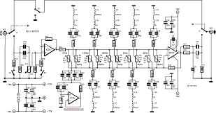 ten band equalizer circuit wiring schematic ten band equalizer