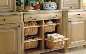 Wicker Basket Cabinet Furniture Wicker Storage Basket Ideas To Make Your Room More