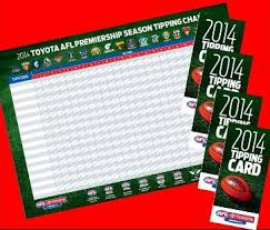 Free Tipping Comp Gear For Your Staffroom In 2014 Afl