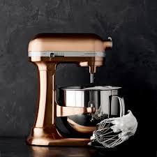 kitchenaid pro line copper stand mixer 7 qt williams sonoma kitchenaid limited edition mixer check it out black