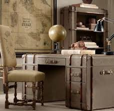 Retro office decor 1950s Homeofficedecorvintagestyledesk Made Of Suitcases Retro Office Furniture Pinterest 83 Best Vintage Office Images Vintage Office Desk Antiquities