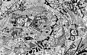 abstract drawing abstract drawing stock photo image of grey material 42479626