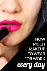 we had a fun question for our professional readers how much makeup do you wear