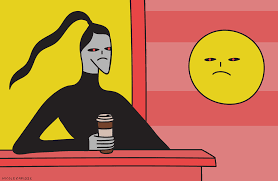 angry good morning gif by nicole zaridze