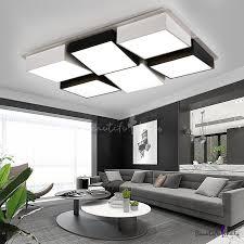 head novelty modern led ceiling light