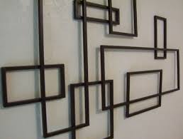 Black Iron Wall Decor Modern Metal Wall Decor