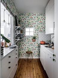Modern kitchen wallpaper ...