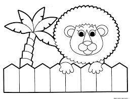 Small Picture Zoo lion coloring pages online free