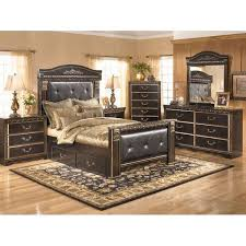 silverglade mansion bedroom set by signature design. delightful perfect ashley bedroom sets coal creek 5 piece set b175 5pcset furniture afw silverglade mansion by signature design