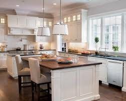 kitchens chase pendant silver white pendant lighting chandelier white kitchen cabinets butcher block countertops black