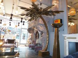 monumental french brass palm tree floor lamp attributed to maison jansen 2