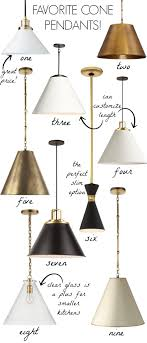 kitchen pendent lighting. Love All Of These Cone Pendant Lights - Them Over Kitchen Islands! Black, Pendent Lighting E