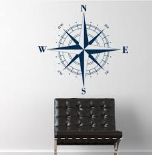 compass rose nautical vinyl wall decal decals holiday gift ideas fathers day men s gifts nautical gifts fathers day gifts g
