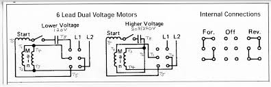 wiring new motor 120v Motor Wiring Diagram single phase reversing drum switch 2 jpg single phase 120v motor wiring diagrams