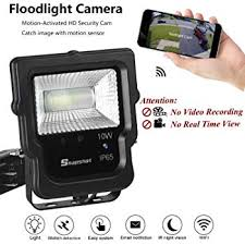 Flood Light Security Camera Wireless Classy Famirosa Floodlight Camera MotionActivated Wifi Wireless Flood