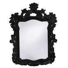 black antique picture frames. Turner Mirror - Glossy Black Black Antique Picture Frames