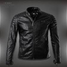 leather jacket with moto shoulder detail
