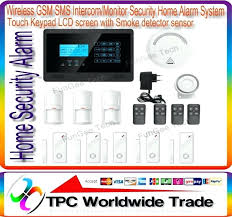 diy wireless home security systems wireless monitor security home alarm system black securityman diy wireless home