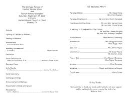 Program Notes Template 031 Template Ideas Sample Wedding Program Templates Free