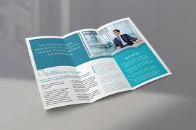 brochure brochure trifold brochure mockup bundle mockupworld