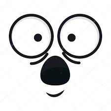Disegni Kawaii Faccine Faccia Di Kawaii Emoticon Vettoriali
