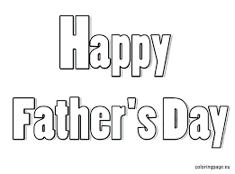 fathers day coloring pages grandpa happy page