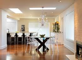 view in gallery acrylic chairs are ideal for creating an uncluttered setting