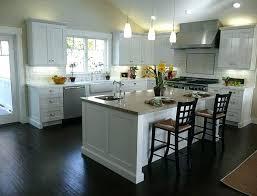 off white cabinets dark floors. Plain Floors Off White Kitchen Cabinets With Dark Floors  Antique To R