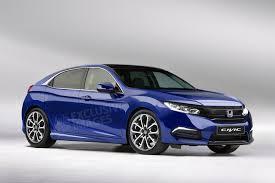 Some More 2017 Honda Civic Hatchback Renderings.