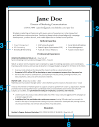 Resume Format 2018 What Your Resume Should Look Like In 24 Money 14
