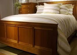 Bedroom Outstanding Bed Frame Solid Wood Queen Steel Factor With