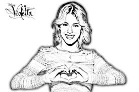 Coloriages De Violetta 7 On With Hd Resolution 1421x947 Pixels