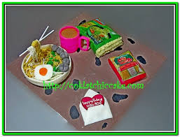 Cake Indomie Ade Coklatchic Cake