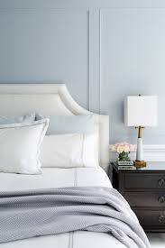 blue and gray bedroom design